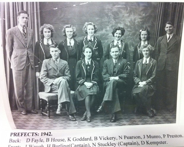 Prefects 1942